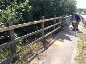 One fixed fenced near Kebur