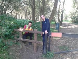 Ben and Callum at Southwood