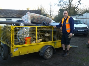 Haul from BV Path litter pick