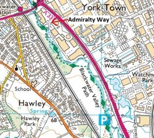 hawley-map