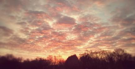 Sunrise over Sandhurst