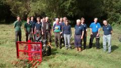 Blackwater Valley weekly volunteers