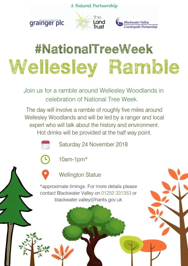 Tree Week Ramble Wellesley