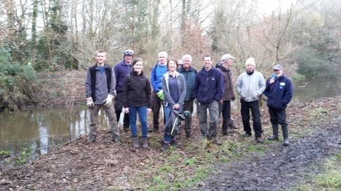 Team at Cheyne Wood